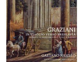 GAETANO NASILLO - Graziani: Sonatas For Cello & Continuo (CD)