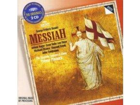ENGLISH CONCERT/PINNOCK - Handel/Messiah (CD)