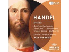 GABRIELI CONSORT / MCCREESH - Handel: Messiah (CD)