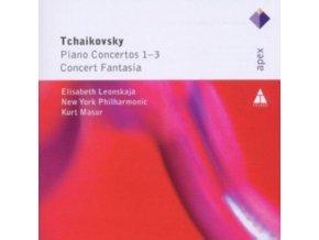 ELISABETH LEONSKAJA - Tchaikovsky/Piano Concertos 1-3 (CD)