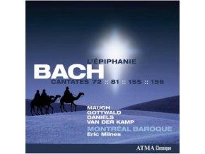 MONIKA MAUCH - Sacred Bach Cantatas (CD)