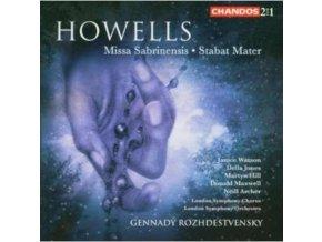LONDON SO & CHROZHDESTVENSKY - Howellsmissa Sabrinensisstabat Mater (CD)