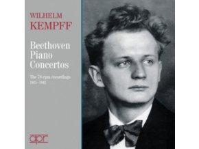 WILHELM KEMPFF - Beethovenpiano Concertos (CD)