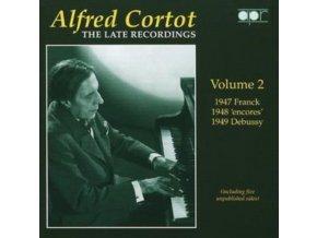 ALFRED CORTOT - Cortotlate Recordings Vol 2 (CD)