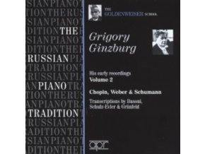 GRIGORY GINZBURG - The Goldenweiser School (CD)