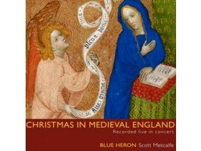BLUE HERON CHOIRMETCALFE - Christmas Medieval England (CD)
