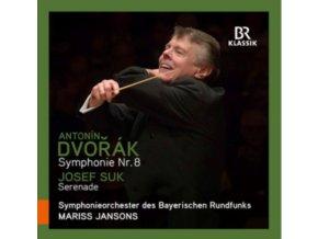 SYMPHONIEORCHESTER BRJANSONS - Dvoraksymphony No 8 (CD)