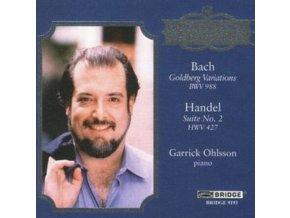 GARRICK OHLSSON - Bachsgoldberg (CD)
