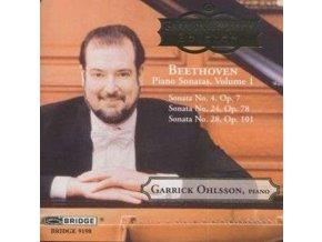 GARRICK OHLSSON - Beethovenpiano Sonatas Vol 1 (CD)