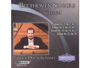 GARRICK OHLSSON - Beethovensonatas Vol 3 (CD)