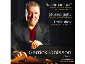 GARRICK OHLSSON - Rachmaninoffvariations On A Theme (CD)