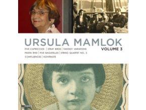 HOLLIGERSONAR QUARTETT - Mamlok  Vol 3 (CD)