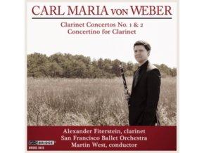 ALEXANDER FITERSTEIN - Von Webertwo Clconcertos (CD)