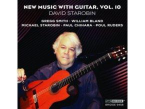 DAVID STAROBIN - New Music With Guitar  Vol 10 (CD)