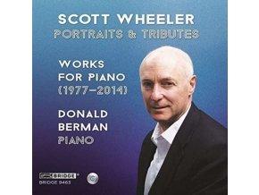 DONALD BERMAN - Scott Wheeler: Portraits & Tributes - Works For Piano 1977-2014 (CD)