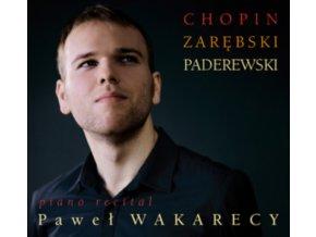 PAWEL WAKARECY - Chopinpiano Recital (CD)