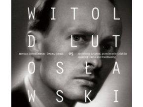 WROCLAW POKASPSZYK - Lutoslawskiopera Omnia Vol 5 (CD)