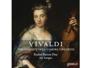 BARTON PINEARS ANTIGUA - Vivaldiv Damore Concertos (CD)