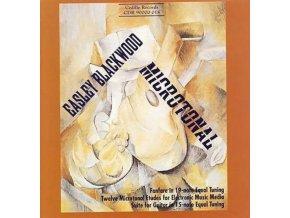 EASLEY BLACKWOOD  JEFFREY KUST - Easley Blackwood  Microtonal (CD)