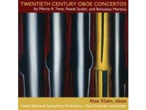 ALEX KLEINCZECH NSOFREEMAN - Twentieth Century Oboe Concertos (CD)