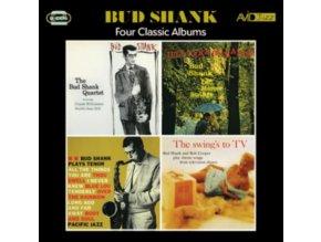 BUD SHANK - Four Classic Albums (CD)