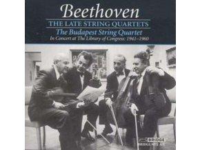 BUDAPEST STRING QUARTET - Beethoventhe Late String Quartet (CD)