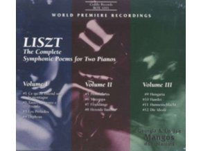VARIOUS ARTISTS - Liszt Complete Sym Poems For 2 Pianos (CD)