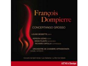 LOUISE BESSETTE - Dompierre: Concertango Grosso (CD)