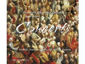 VARIOUS ARTISTS - Concerti - Flanders Recorder Quartet (CD)