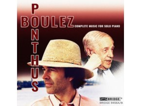 MARC PONTHUS - Boulezcomplete Music For Solo Piano (CD)