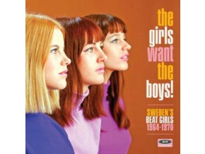 VARIOUS ARTISTS - The Girls Want The Boys! Swedish Beat Girls 1964-1970 (CD)