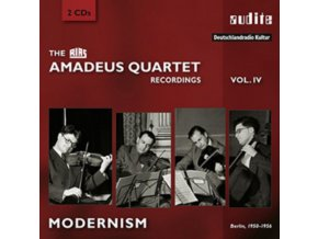 AMADEUS QUARTET - Recordings - Vol 4 - Modernism (CD)