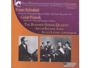 BUDAPEST STRING QUARTET - Library Of Congress  Vol 23 (CD)