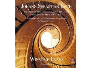 WINSOME EVANS - J S Bach: Six Suites For Solo Cello Transcribed For Harpsichord (CD)