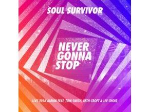 SOUL SURVIVOR - Never Gonna Stop (CD)