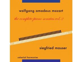SIEGFRIED MAUSER - Mozart: Piano Sonatas Vol 2 (CD)