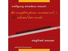 SIEGFRIED MAUSER - Mozart: Piano Sonatas Vol 3 (CD)