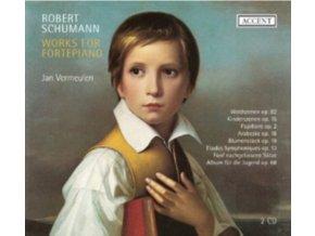 VERMEULEN / R SCHUMANN - Works For Fortepiano - Vermeulen (CD)