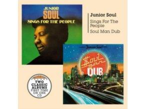 JUNIOR SOUL - Soul Man Dub + Sings For The People (CD)