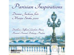 JACKSONSTROKE - Parisian Inspirations (CD)