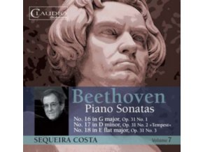 SEQUEIRA COSTA - Beethovenpiano Sonatas Vol 7 (CD)