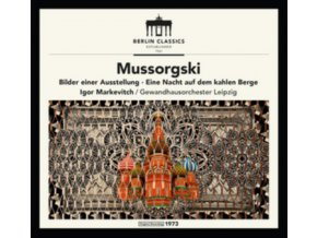 GEWANDHAUSORCHESTER LEIPZIG / IGOR MARKEVITCH / - Mussorgsky: Pictures At An Exhibition / Night On Bald Mountain (Remastered) (CD)