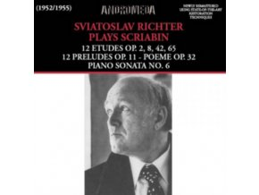 SVIATOSLAV RICHTER - Scriabinpiano Pieces (CD)