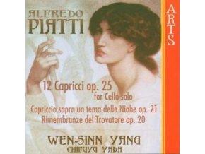PIATTI - Caprices Op 25 For Solo Cello (CD)