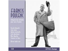GUILMETTE  BEAUDIN  FUCHS  - Poulenc Integrale Des Melod (CD)