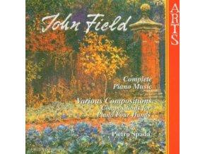 JOHN FIELD AND PIETRO SPADA - Fieldcpt Pno Music Vol 6 (CD)