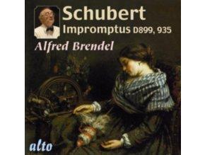 ALFRED BRENDEL - Schubert Complete Impromptus (CD)