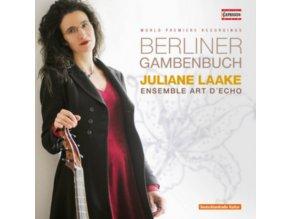 ENSEMBLE ART DECHO  LAAKE - Berliner Gambenbuch (CD)
