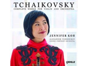 TCHAIKOVSKY - Koh  Vedernikov  Odense So (CD)