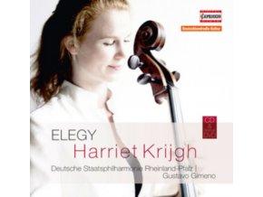 KRIGJH  DEUTSCHE SP  GIMENO - Harriet Krijgh  Elegy (CD + DVD)